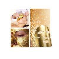 Трехкомпонентная лифтинговая золотая маска против морщин и дряблости